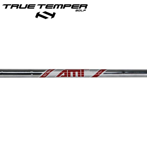 トゥルーテンパー AMT レッド スチール アイアンシャフト 【#5-PW/6本組】 (True Temper AMT Red Iron) (#5-#PW/6pcs set)