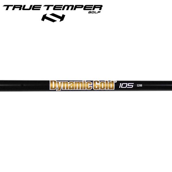 トゥルーテンパー ダイナミックゴールド 105 オニキス・ブラック スチール アイアンシャフト (True Temper DG 105 Onyx Black Iron) 【#5-W/6本組】