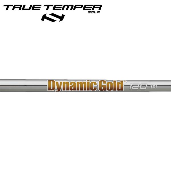 トゥルーテンパー ダイナミックゴールド 120 スチール アイアンシャフト 【#5-W/6本組】 (True Temper DG 120 Iron) (#5-#W/6pcs set)