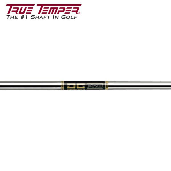 トゥルーテンパー DG Pro スチール アイアンシャフト (True Temper DG Pro Iron) 【#5-W/6本組】