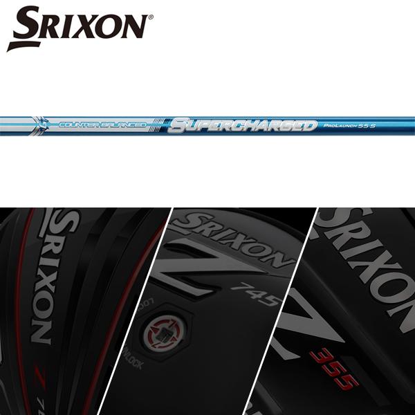 【SRIXON QTS 純正スリーブ装着シャフト】 グラファロイ プロローンチ・ブルー・スーパーチャージド (Grafalloy ProLaunch Blue Supercharged)