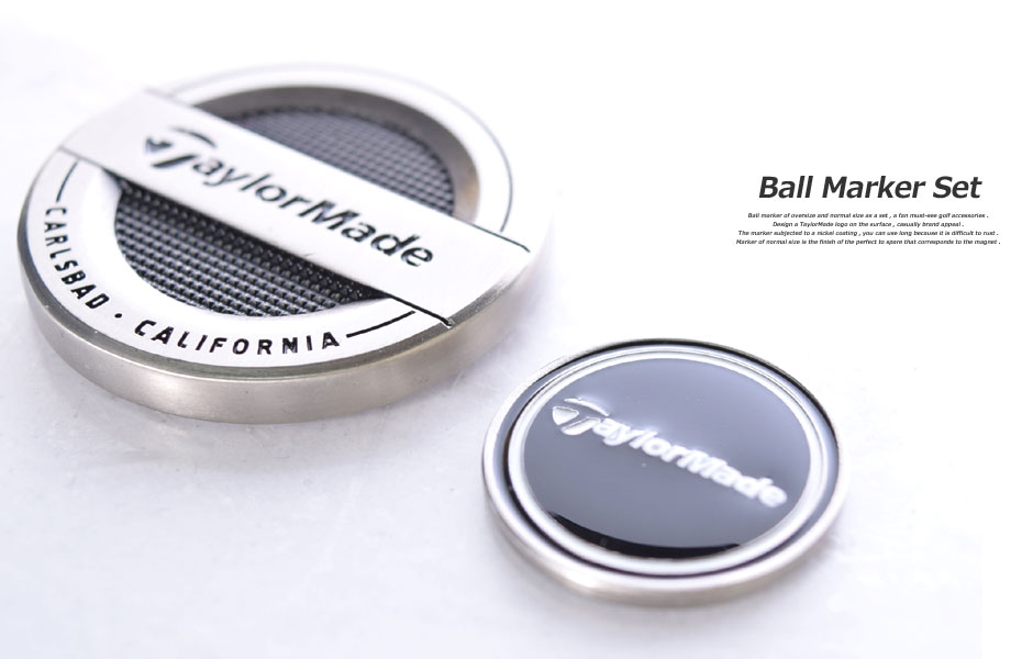 ball markers. taylormade golf ball marker accessories markers