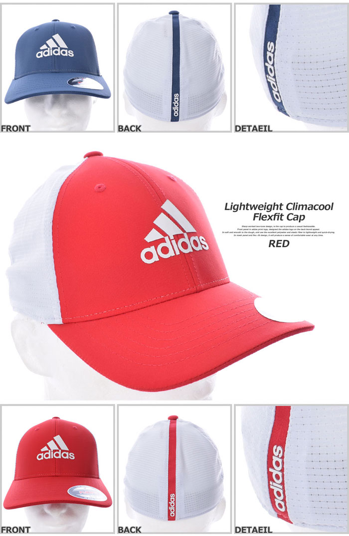 e0b99df865fe1 (stock disposal) a sale commemorative in the Adidas adidas cap hat men cap  men s wear golf lightweight CLIMACOOL flexible fitting cap USA direct  import ...