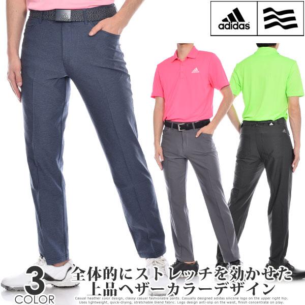 (スーパーセール)アディダス adidas ゴルフパンツ メンズ 春夏 ゴルフウェア メンズ パンツ おしゃれ ロングパンツ メンズウェア アルティメット365 ヘザー 5ポケット パンツ USA直輸入 あす楽対応