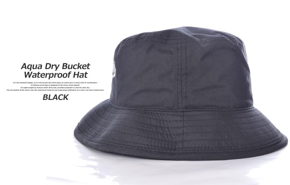 Callaway caps men s menswear wear mens AQUADRY waterproof bucket Hat Cap 11786f13076