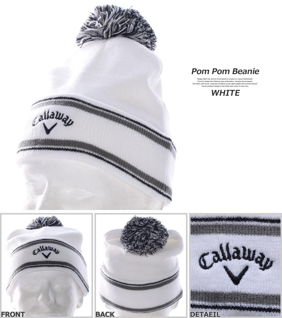 Callaway 2016 Pom Pom Beanie 5c8f8c70b04