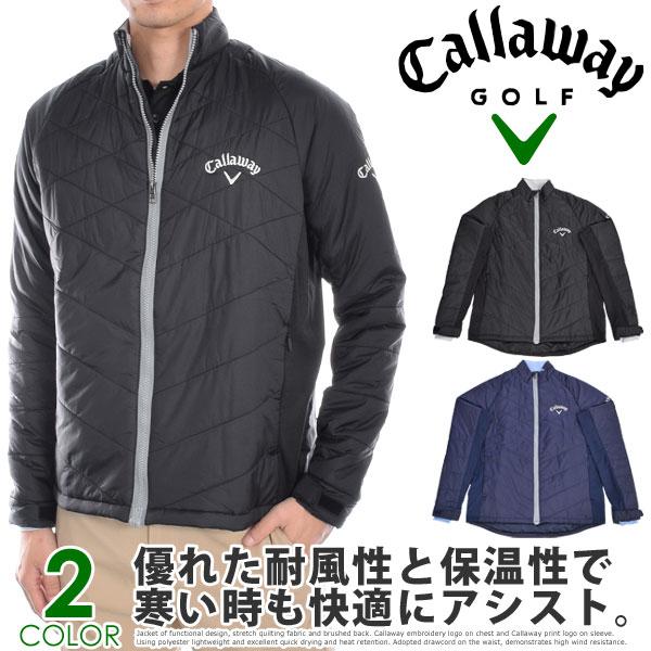 キャロウェイ Callaway 長袖メンズゴルフウエア パフォーマンス キルト 長袖ジャケット 大きいサイズ USA直輸入 あす楽対応