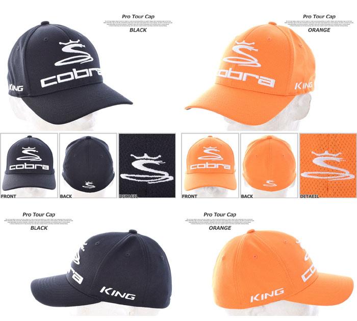 Cobra COBRA cap hat men cap men's wear golf wear men pro tour cap