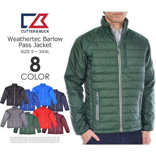 カッター&バック Cutter&Buck 長袖メンズウェア WEATHERTEC バロウ パス 長袖ジャケット 大きいサイズ USA直輸入 あす楽対応