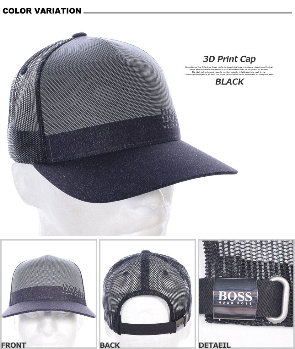 7952bc50ab1b8 (stock disposal) a sale commemorative in the Hugo Boss HUGO BOSS cap hat  men cap fashion men s wear golf wear men 3D print cap USA direct import ...