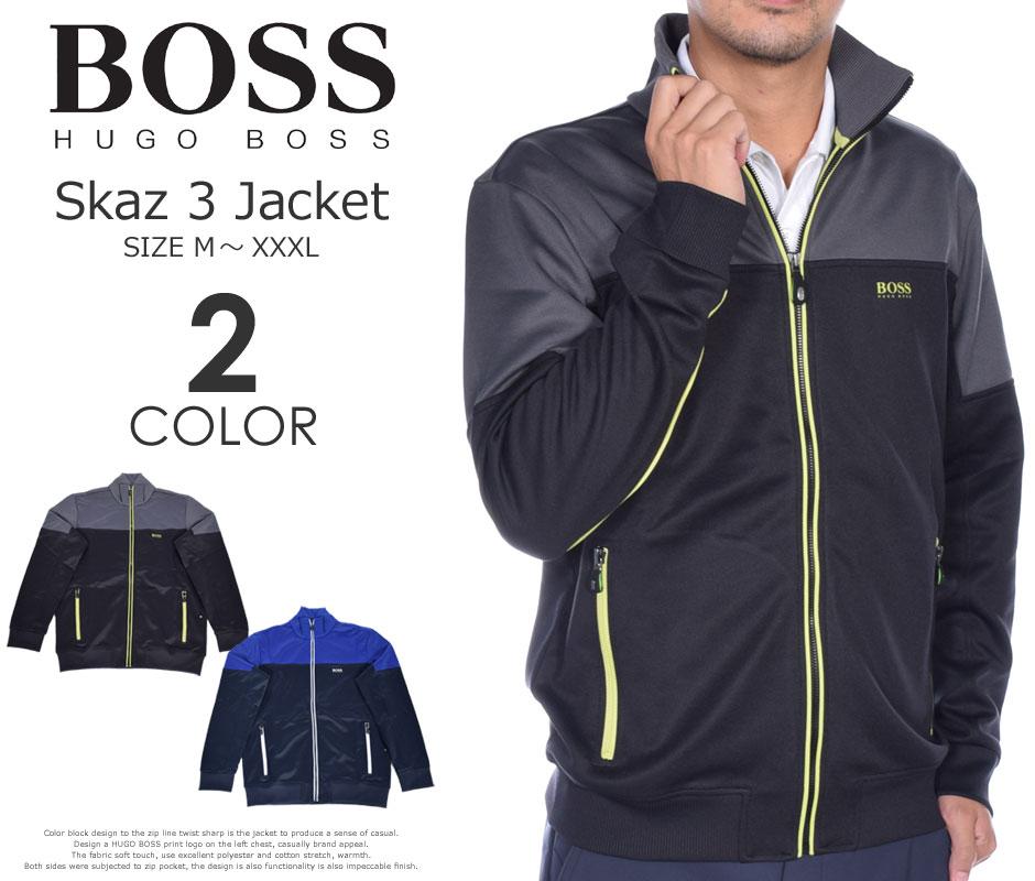 (在庫処分)ヒューゴボス HUGO BOSS ゴルフウェア メンズ 秋冬ウェア 長袖メンズウェア ゴルフ スカズ 3 長袖ジャケット 大きいサイズ USA直輸入 あす楽対応
