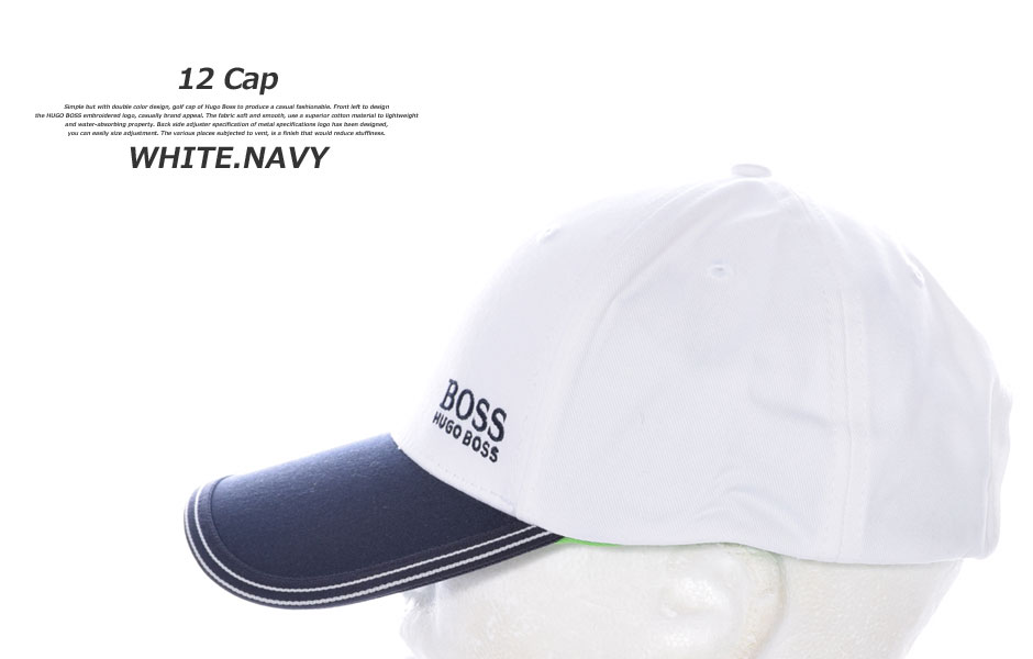 golfwear-usa  Hugo Boss HUGO BOSS Cap Hat mens Cap menswear wear ... 74b708e9337