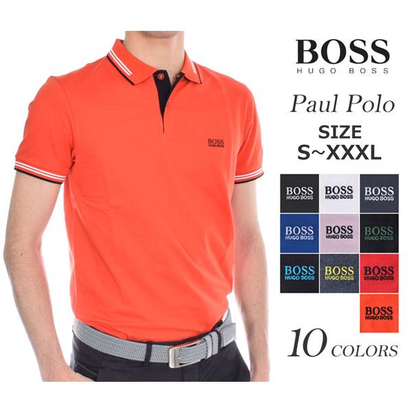 ヒューゴボス HUGO BOSS ゴルフウェア メンズウェア ゴルフ  ポール 半袖ポロシャツ 大きいサイズ USA直輸入 あす楽対応