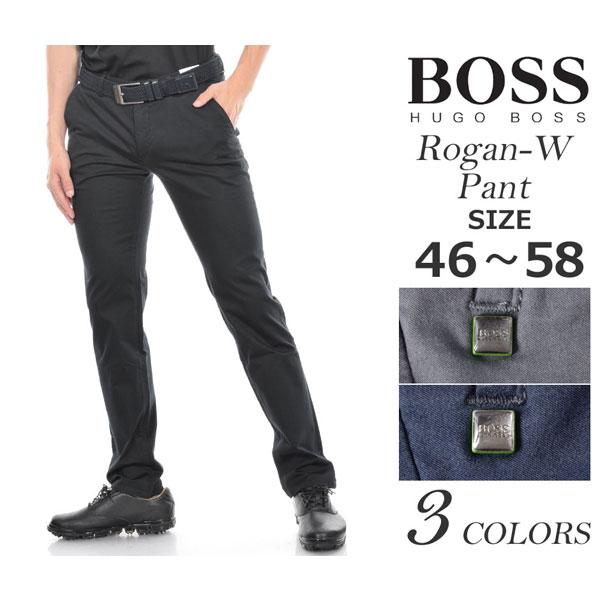 ゴルフパンツ メンズ 春夏 ゴルフウェア メンズ パンツ おしゃれ (在庫処分)ヒューゴボス HUGO BOSS メンズウェア ゴルフ パンツ ウェア ロングパンツ ボトム ローガン-W パンツ 大きいサイズ USA直輸入 あす楽対応