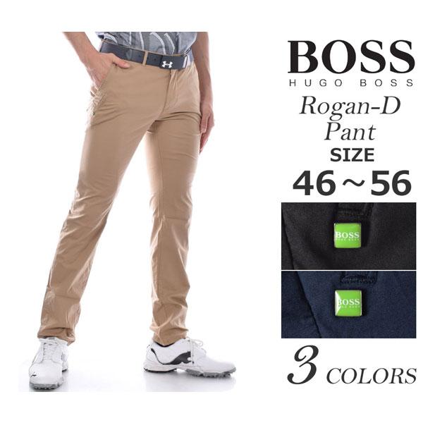 ゴルフパンツ メンズ 春夏 ゴルフウェア メンズ パンツ おしゃれ (在庫処分)ヒューゴボス HUGO BOSS メンズウェア ゴルフ パンツ ウェア ロングパンツ ボトム ローガン-D パンツ 大きいサイズ USA直輸入 あす楽対応