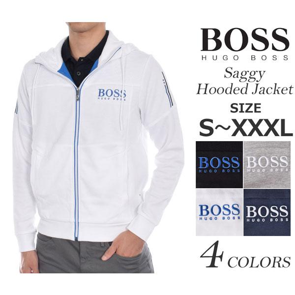 ヒューゴボス HUGO BOSS ゴルフウェア メンズ おしゃれ 秋冬ウェア 長袖メンズウェア ゴルフ サギー フード 長袖ジャケット 大きいサイズ USA直輸入 あす楽対応