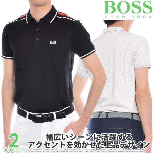 ヒューゴボス HUGO BOSS ゴルフウェア メンズウェア ゴルフ ポール 1 半袖ポロシャツ 大きいサイズ USA直輸入 あす楽対応
