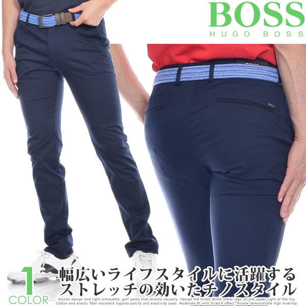 (スペシャル感謝セール)ヒューゴボス HUGO BOSS メンズウェア ゴルフ パンツ ウェア ロングパンツ ボトム ローガン 3-2 パンツ 大きいサイズ USA直輸入 あす楽対応