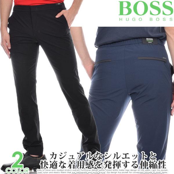 (スペシャル感謝セール)ヒューゴボス HUGO BOSS メンズウェア ゴルフ パンツ ウェア ロングパンツ ボトム ラビッシュ-1 パンツ 大きいサイズ USA直輸入 あす楽対応