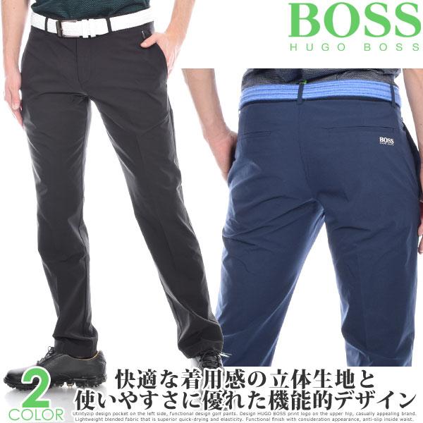 (スペシャル感謝セール)ヒューゴボス HUGO BOSS メンズウェア ゴルフ パンツ ウェア ロングパンツ ボトム ハプロン 5 パンツ 大きいサイズ USA直輸入 あす楽対応