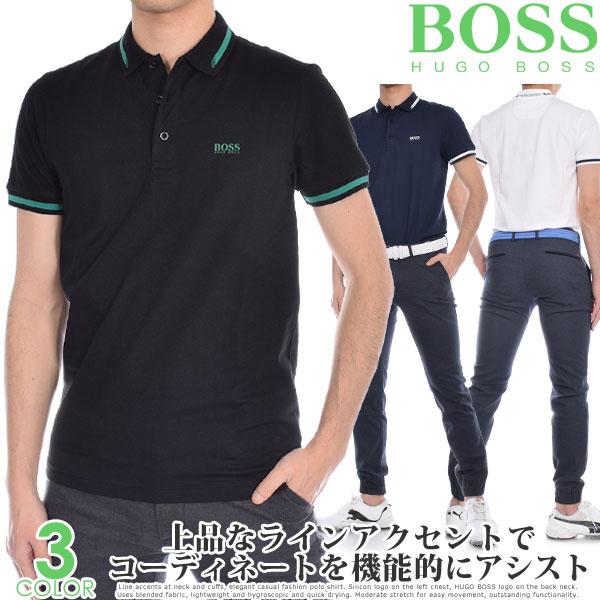 (スペシャル感謝セール)ヒューゴボス HUGO BOSS メンズウェア ゴルフウェア メンズ シャツ トップス ポロシャツ 春夏 おしゃれ ポール 半袖ポロシャツ 大きいサイズ USA直輸入 あす楽対応