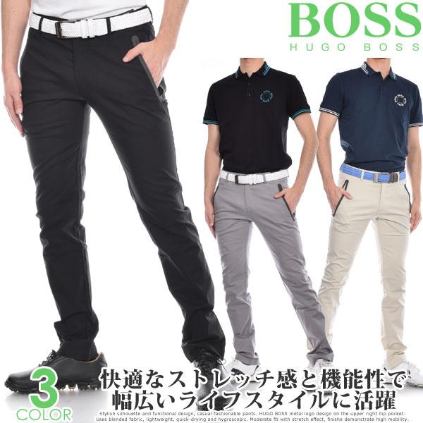 (スペシャル感謝セール)ヒューゴボス HUGO BOSS メンズウェア ゴルフ パンツ ウェア ロングパンツ ボトム ローガン 4 パンツ 大きいサイズ USA直輸入 あす楽対応
