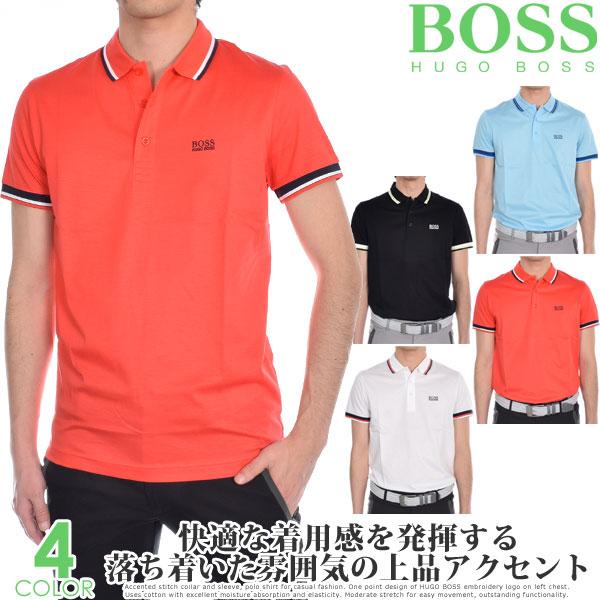 (スペシャル感謝セール)ヒューゴボス HUGO BOSS メンズウェア ゴルフウェア メンズ シャツ トップス ポロシャツ 春夏 おしゃれ パディ 1 半袖ポロシャツ 大きいサイズ USA直輸入 あす楽対応