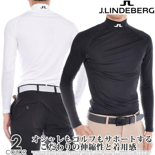 (在庫処分)Jリンドバーグ J.LINDEBERG ゴルフ インナー メンズウエア アエロ ソフト コンプレッション 長袖シャツ USA直輸入 あす楽対応
