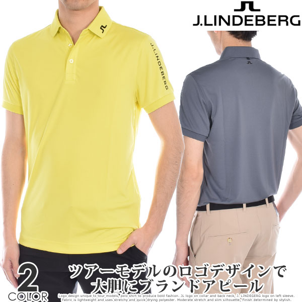 Jリンドバーグ J.LINDEBERG ゴルフウェア メンズウェア ツアー テック スリム TX ジャージー 半袖ポロシャツ 大きいサイズ USA直輸入 あす楽対応