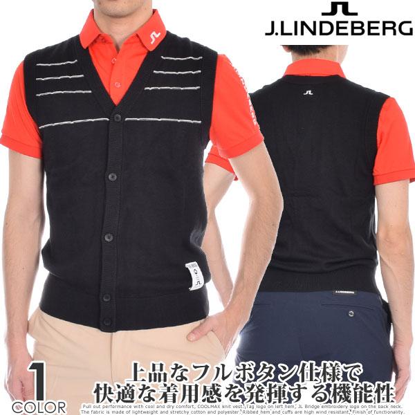 (スペシャル感謝セール)Jリンドバーグ ベスト メンズウエア ゴルフウェア メンズ ゴルフベスト セザール コットン クールマックス ベスト 大きいサイズ USA直輸入