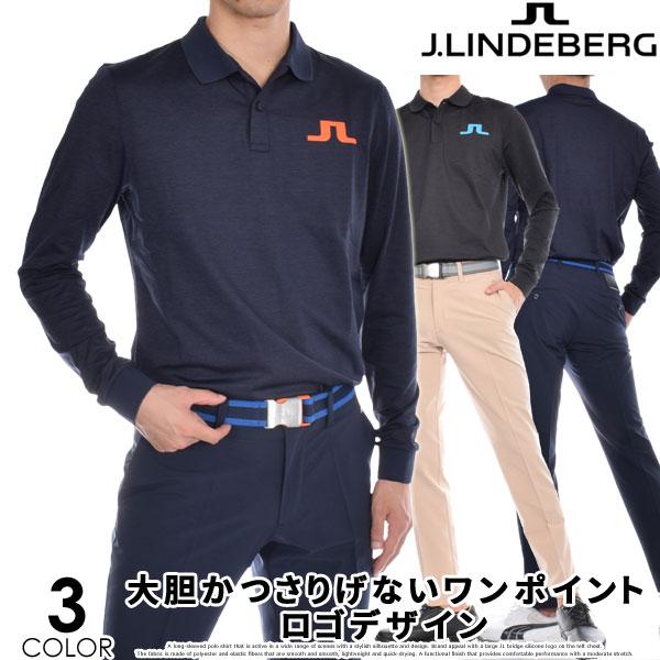 (ポイント10倍)ジェイリンドバーグ J LINDEBERG 長袖メンズゴルフウェア ビッグ ブリッジ レギュラー TX ブラッシュ 長袖ポロシャツ 大きいサイズ USA直輸入 あす楽対応