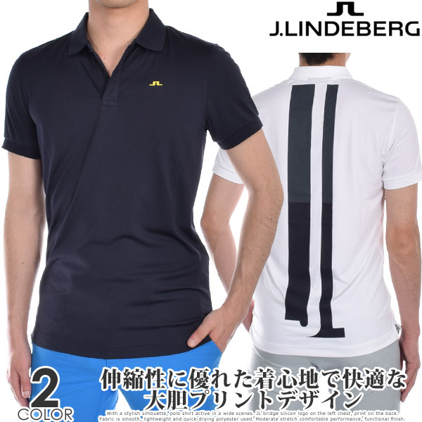 Jリンドバーグ J.LINDEBERG ゴルフウェア メンズ シャツ トップス 春夏 おしゃれ メンズウェア ボー スリム フィット 半袖ポロシャツ 大きいサイズ USA直輸入 あす楽対応
