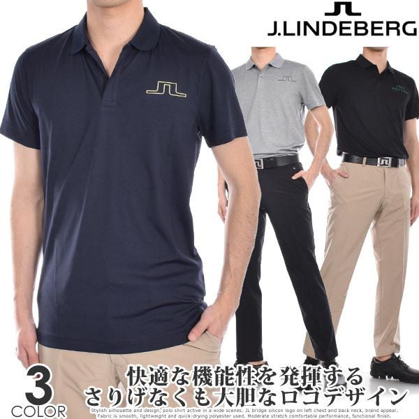 (スペシャル感謝セール)Jリンドバーグ J.LINDEBERG ゴルフウェア メンズ シャツ トップス ポロシャツ 春夏 おしゃれ メンズウェア アラン レギュラー フィット 半袖ポロシャツ 大きいサイズ USA直輸入 あす楽対応
