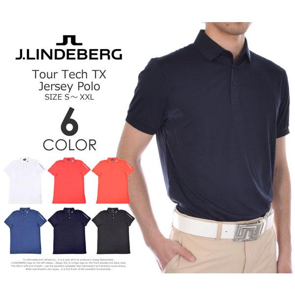 Jリンドバーグ J.LINDEBERG ゴルフウェア メンズウェア ゴルフポロシャツ ポロ ツアー テック TX ジャージー 半袖ポロシャツ 大きいサイズ USA直輸入 あす楽対応