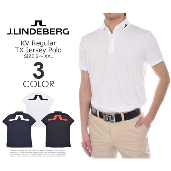 J.LINDEBERG Jリンドバーグ メンズウェア 大きいサイズ USA直輸入 ゴルフウェア ビッグ ブリッジ TX あす楽対応 半袖ポロシャツ レギュラー M
