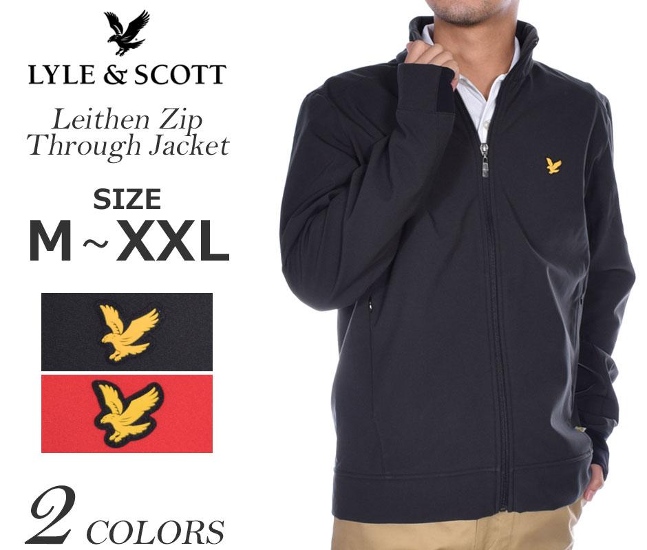 (在庫処分)ライルアンドスコット LYLE&SCOTT リーセン ジップ スルー 長袖ジャケット 大きいサイズ USA直輸入 あす楽対応