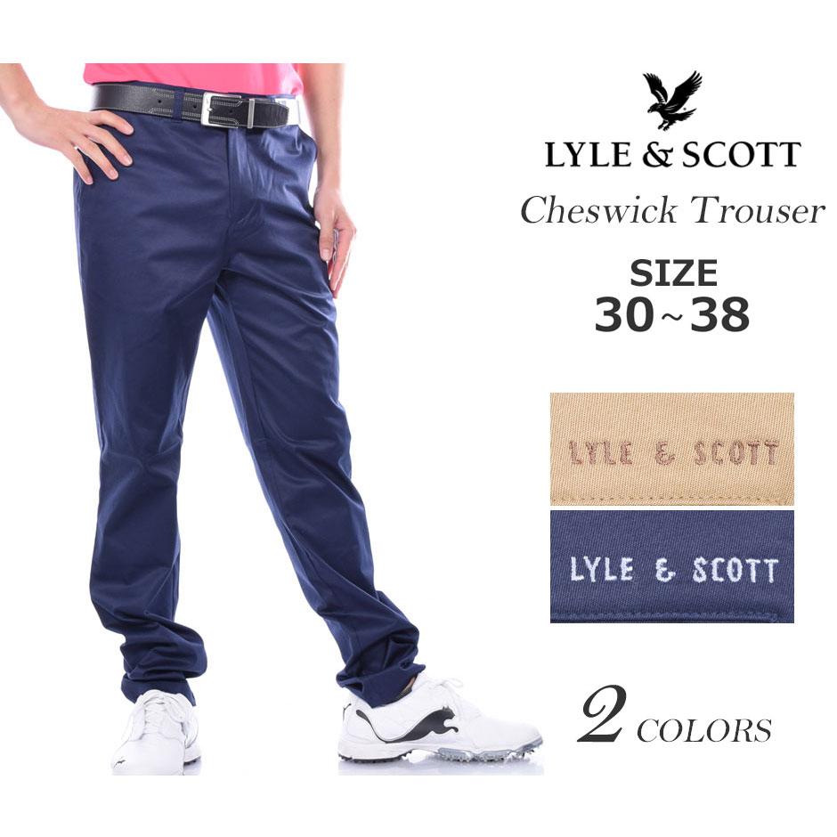 (在庫処分)ライル&スコット LYLE&SCOTT ゴルフパンツ メンズ ボトム メンズウェア チェスウィック パンツ 大きいサイズ USA直輸入 あす楽対応