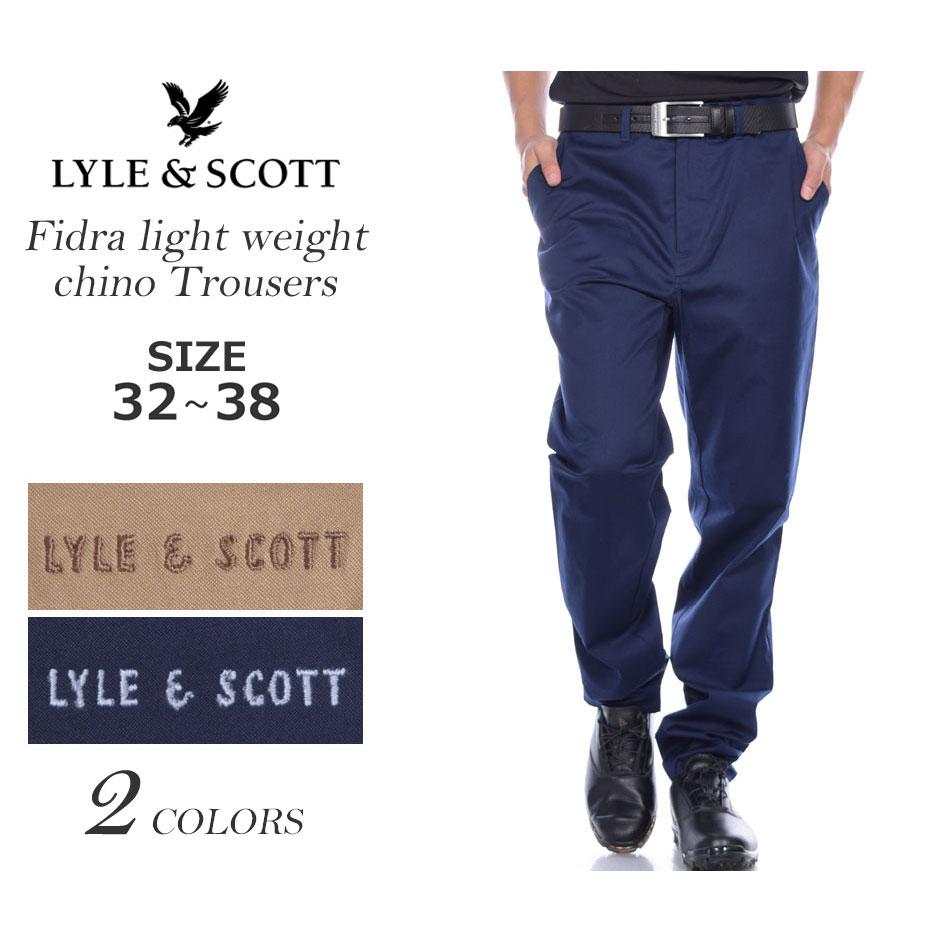 (在庫処分)ライル&スコット LYLE&SCOTT ゴルフパンツ ボトム フィドラ ライトウェイト チノ パンツ 大きいサイズ USA直輸入 あす楽対応 平成最後セール 令和記念