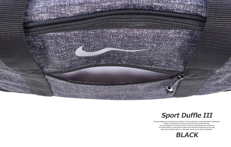 耐克体育三行李袋