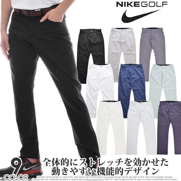 ナイキ Nike ゴルフパンツ ボトム メンズウェア フレックス スリム フィット パンツ 大きいサイズ USA直輸入 あす楽対応