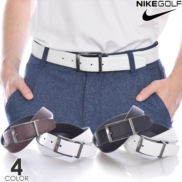ナイキ Nike ベルト ゴルフベルト メンズ おしゃれ ゴルフウェア テクスチャード リバーシブル ベルト 大きいサイズ USA直輸入 あす楽対応
