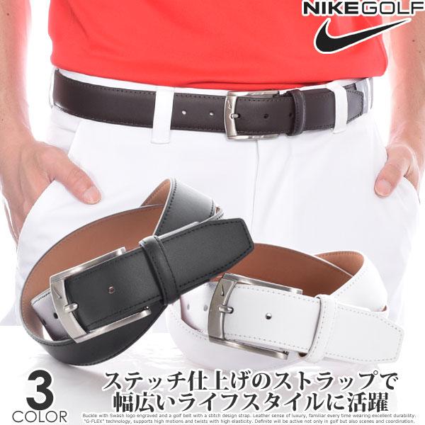 ナイキ Nike ベルト ゴルフベルト メンズ おしゃれ ゴルフウェア G-FLEX テクスチャード ベルト 大きいサイズ USA直輸入 あす楽対応