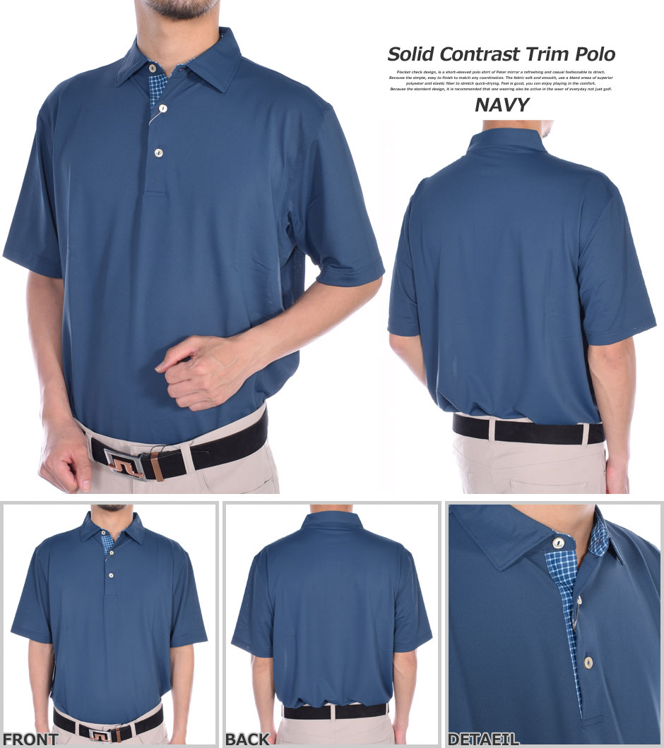 f7c678fad ... The size USA direct import that a stylish Peter mirror PETER MILLAR  golf wear golf polo ...