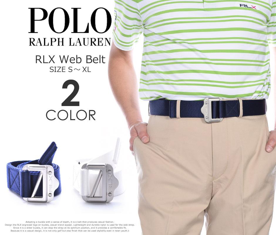 (在庫処分)ポロゴルフ ラルフローレン ベルト ゴルフベルト メンズ ゴルフウェア RLX ウェブ ベルト 大きいサイズ USA直輸入 あす楽対応