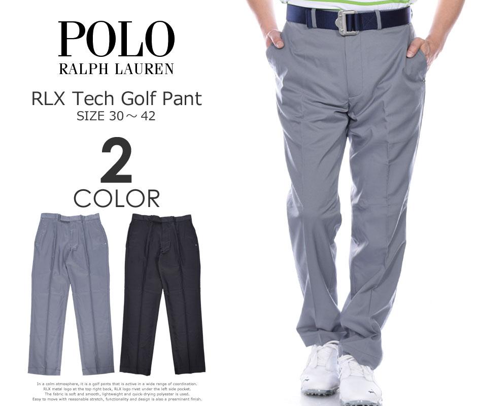 ポロゴルフ ラルフローレン ゴルフパンツ メンズ パンツ RLX テック ゴルフ パンツ 大きいサイズ USA直輸入 あす楽対応