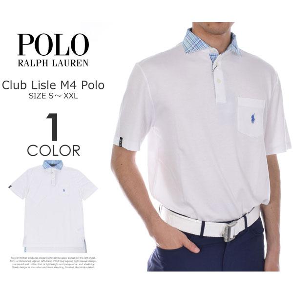 ポロゴルフ ラルフローレン ゴルフウェア メンズウェア ゴルフ クラブ ライル M4 半袖ポロシャツ 大きいサイズ USA直輸入 あす楽対応