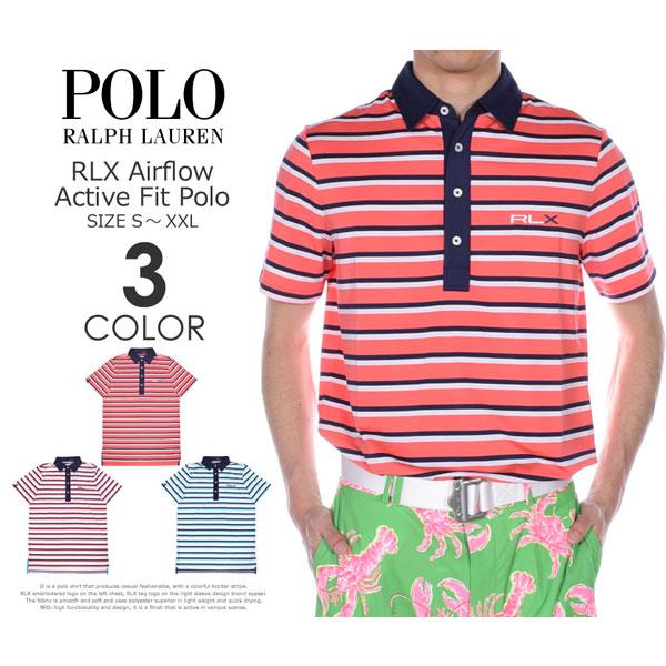 ゴルフウェア メンズ シャツ トップス ポロシャツ 春夏 おしゃれ (在庫処分)ポロゴルフ ラルフローレン ゴルフウェア メンズウェア ゴルフ RLX エアフロー アクティブ フィット 半袖ポロシャツ 大きいサイズ USA直輸入 あす楽対応