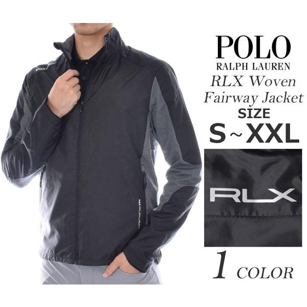 (在庫処分)ポロゴルフ ラルフローレン ゴルフウェア メンズ おしゃれ 秋冬ウェア 長袖メンズウェア POLO RLX ウーブン フェアウェイ F/Z 長袖ジャケット 大きいサイズ USA直輸入 あす楽対応