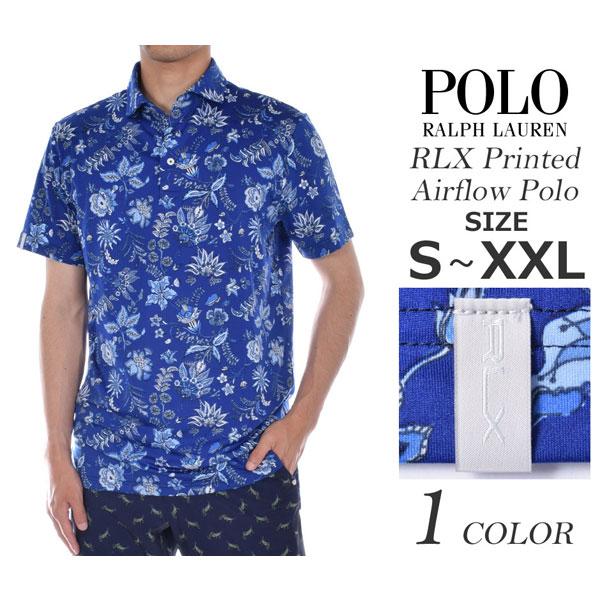 (在庫処分)ポロゴルフ ラルフローレン ゴルフウェア RLX エアフロー アクティブ フィット 半袖ポロシャツ 大きいサイズ USA直輸入