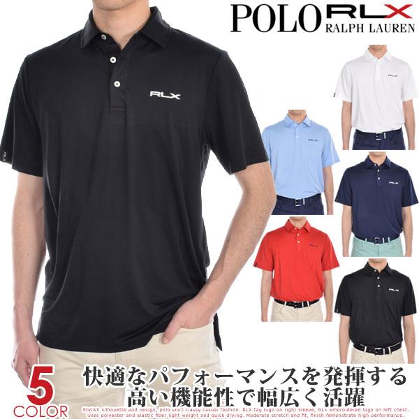 ポロゴルフ ラルフローレン ゴルフウェア メンズ シャツ トップス ポロシャツ 春夏 おしゃれ RLX エアフロー ジャージー 半袖ポロシャツ 大きいサイズ USA直輸入 あす楽対応